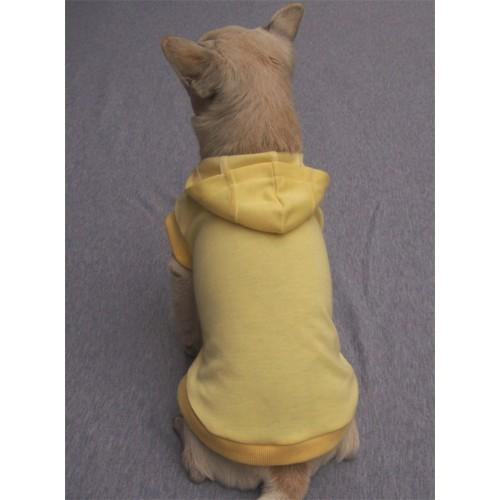Hoodie T-Shirt - Yellow