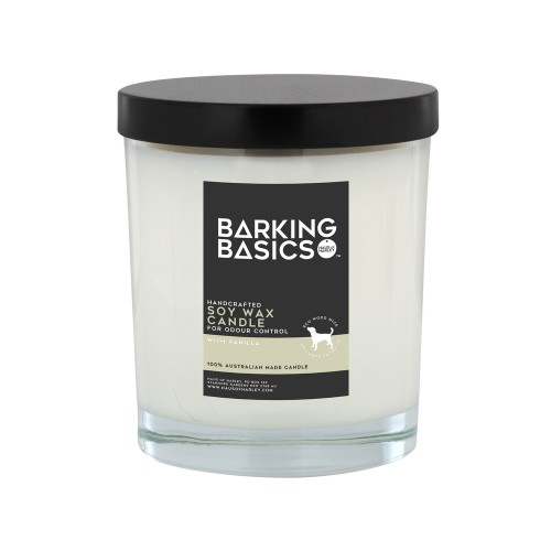 Barking Basics Odour-Neutralising Vanilla Candle