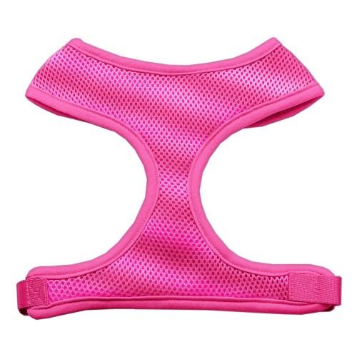 Barking Basics Soft Mesh Harness - Pink