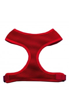 Barking Basics Soft Mesh Harness - Red
