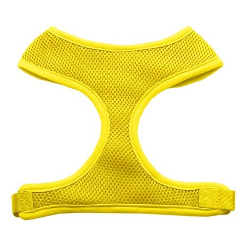 Barking Basics Soft Mesh Harness - Yellow